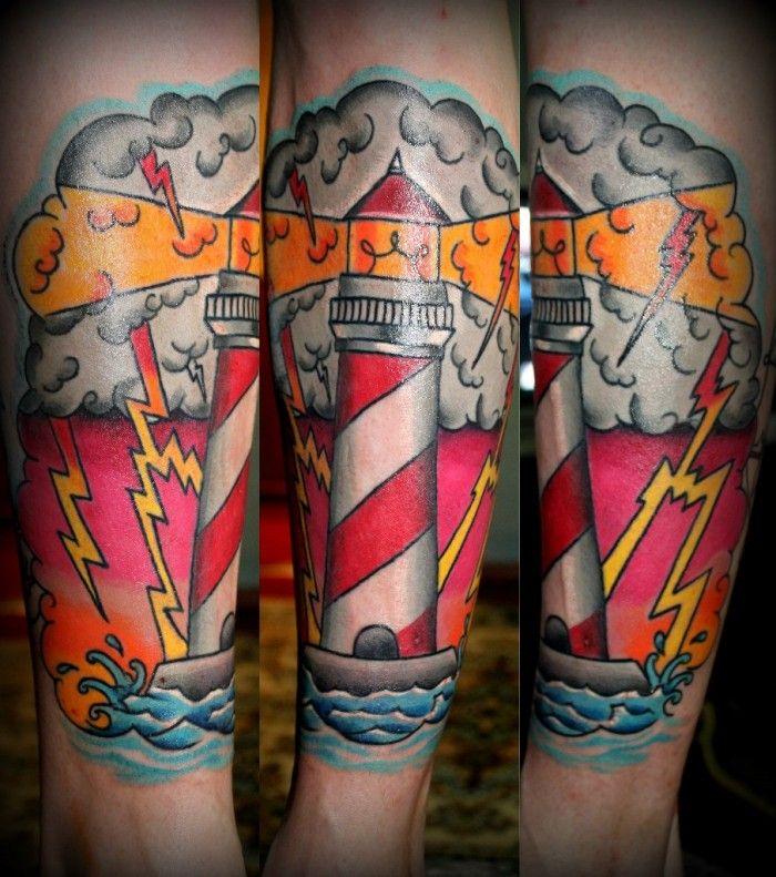 что результате тату маяк на руку эскизы называйте