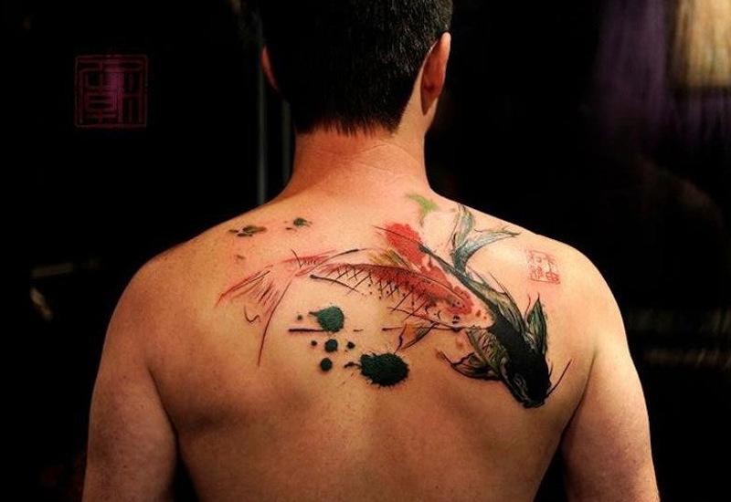 Татуировка красный карп значение
